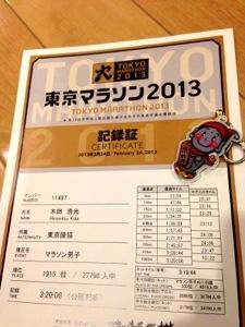 東京マラソン公式記録
