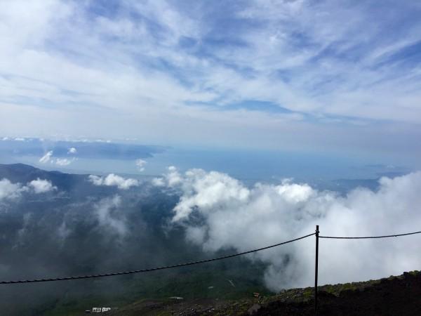 三回目の富士登山は富士宮ルートで