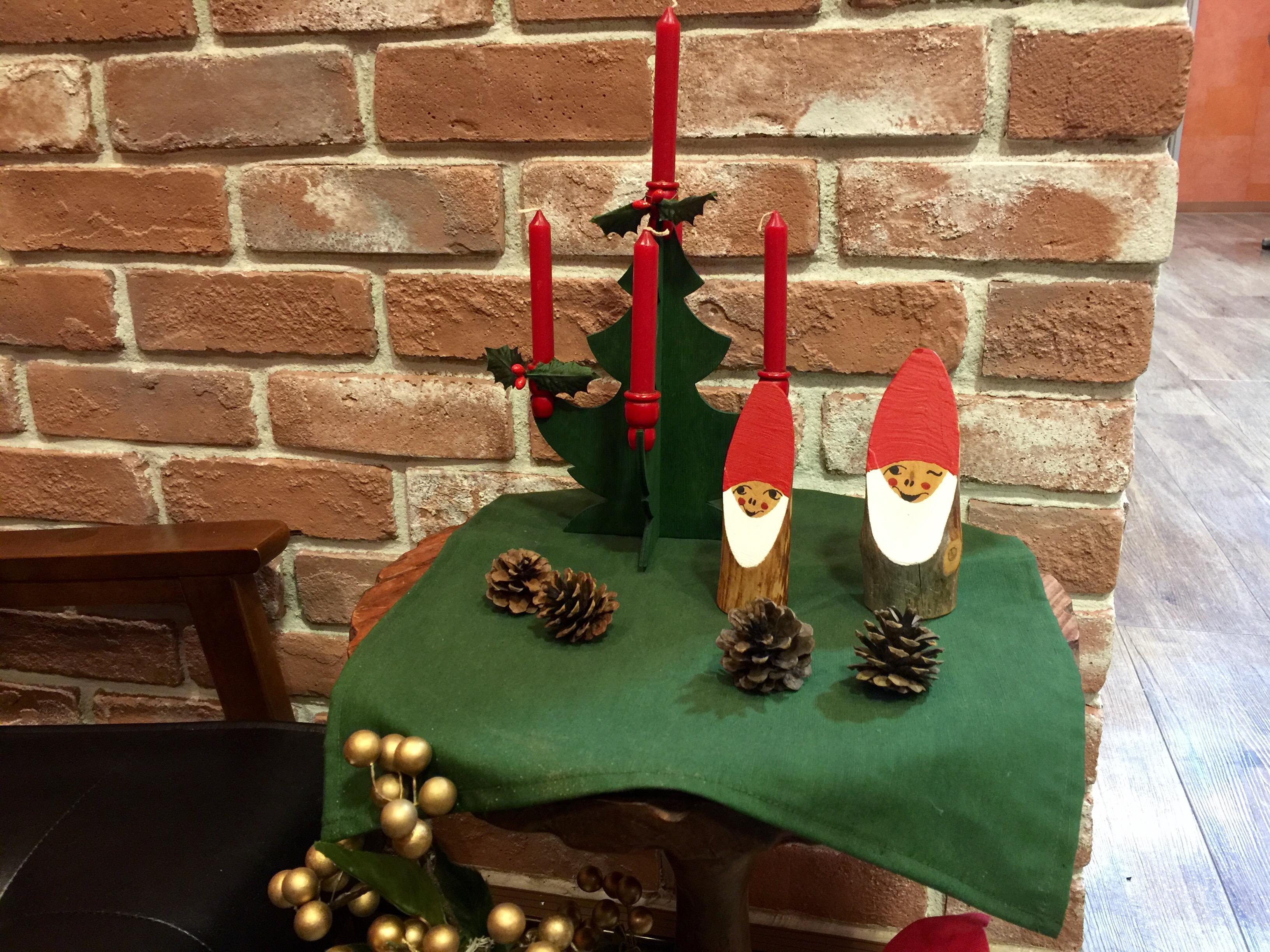 クリスマスまで1ヶ月!サロンがクリスマスバージョンに